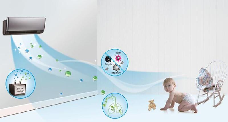 5 lưu ý khi lắp máy lạnh cho trẻ sơ sinh?