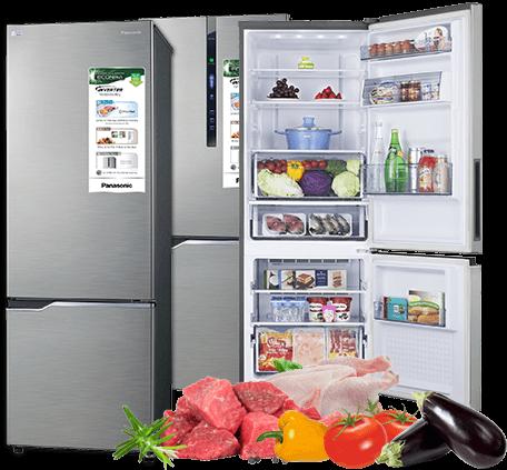Tủ lạnh Panasonic có ngăn đông mềm giá rẻ hấp dẫn