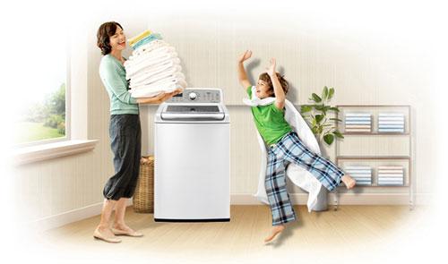 máy giặt loại nào tiết kiệm nước