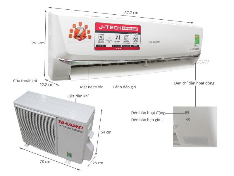 Ưu điểm nổi bật của máy lạnh Sharp