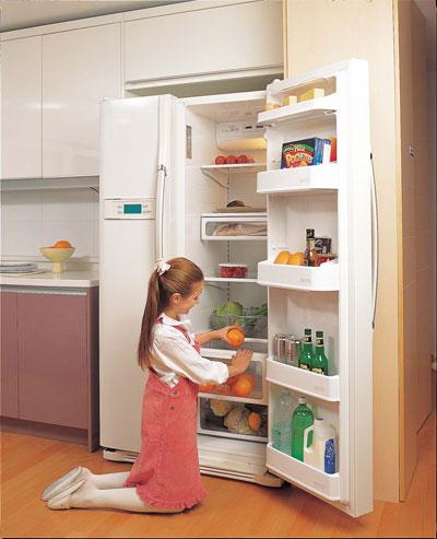 Mở cửa tủ lạnh quá lâu