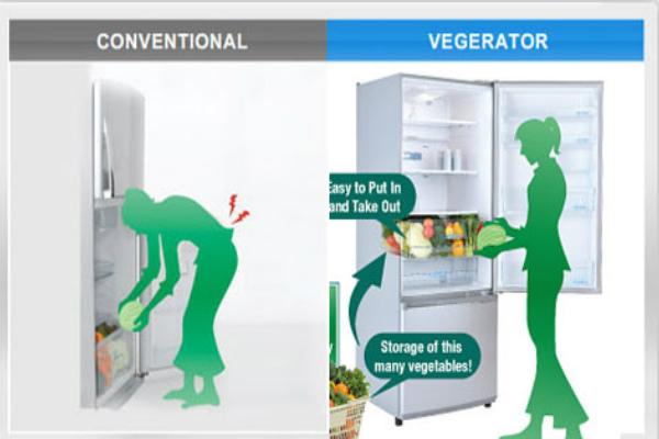 Những lợi ích tuyệt vời của tủ lạnh ngăn đá dưới