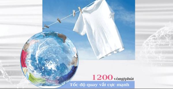 Tìm hiểu về các chức năng trong máy giặt